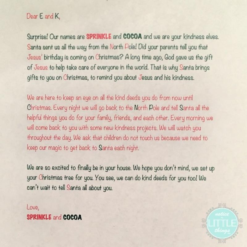elves letter 1 2014
