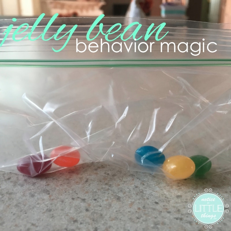 jelly bean behavior magic