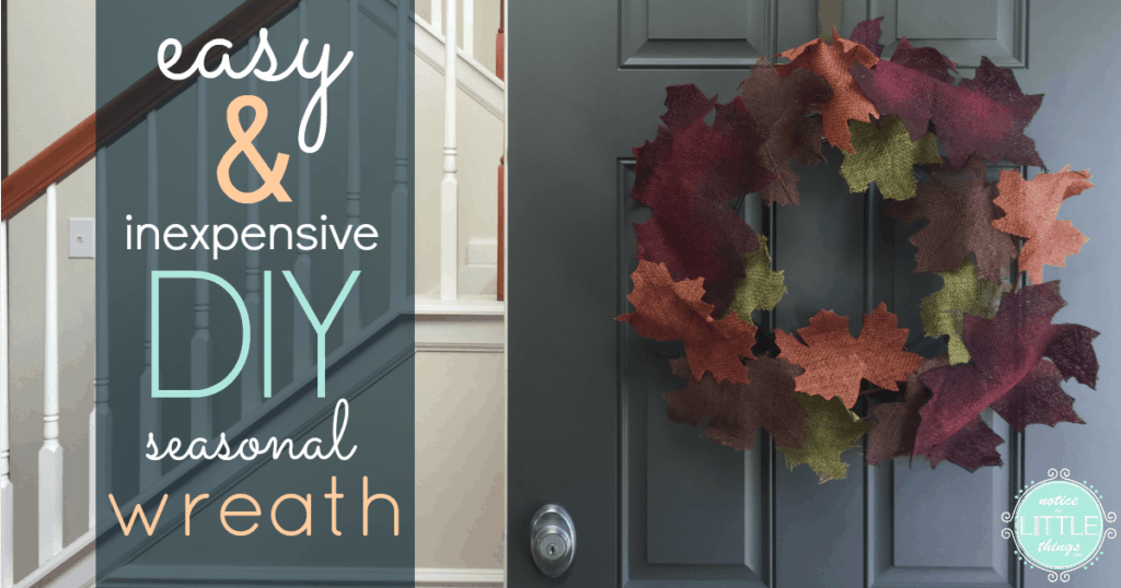 easy diy seasonal wreath