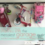 organizing the messiest garage ever