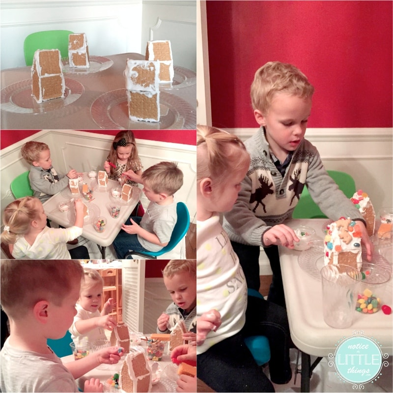 gingerbread kids table
