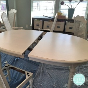 dining table during