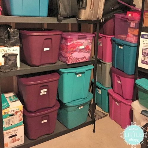 saving clothes storage