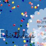 noticing meghan's LITTLE birthday :: october 16th