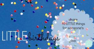 noticing denise's LITTLE birthday august 21st