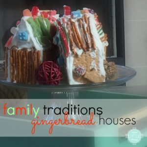 family traditions :: gingerbread houses