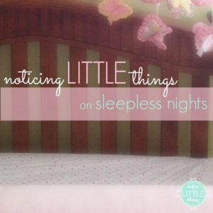 the LITTLE things november 15th