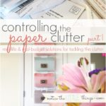 controlling the paper clutter {part I}