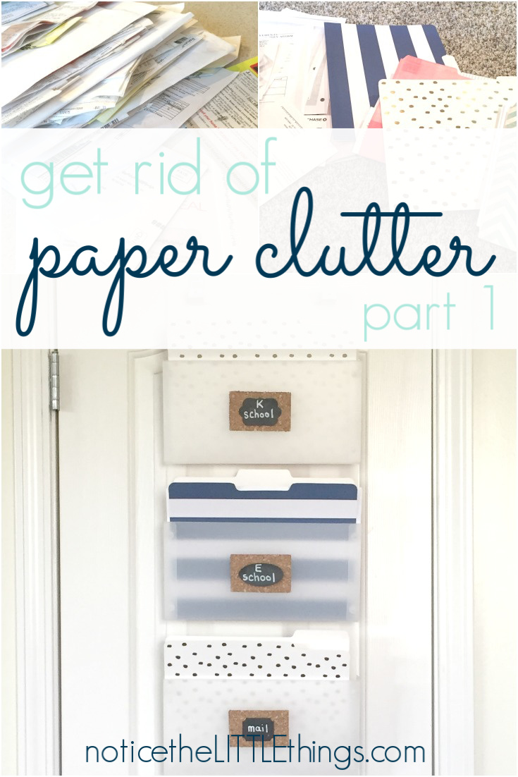 hanging files for organized paper clutter
