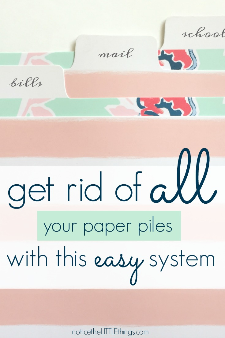 use this easy filing system to finally organize all your paper piles and paper clutter once and for all. organize your mail, bills, school papers, receipts and more and finally get that paper off your counters. #organizedmom #organizedfamily #paperfilingsystem #howtoorganizemail #howtoorganizereceipts #howtoorganizebills #organizemylife #organizeallyourpaper #clutter #tacklingpaperclutter #howtotacklepaperclutter #organizedschoolwork #howtoorganizekidsartwork