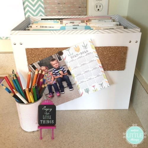 clutter control 2 file box