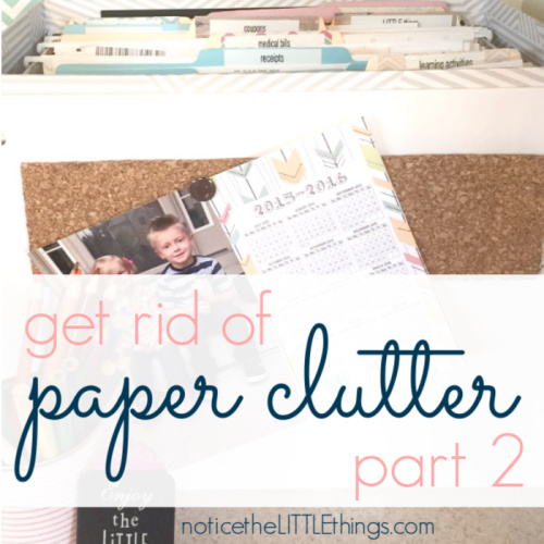filing box for organized paper clutter