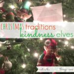kindness elves for the christmas season