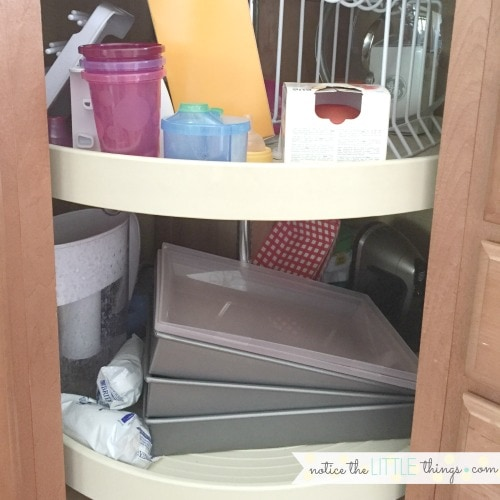 Organizing Kitchen Cabinets In 3 Easy Steps Notice The