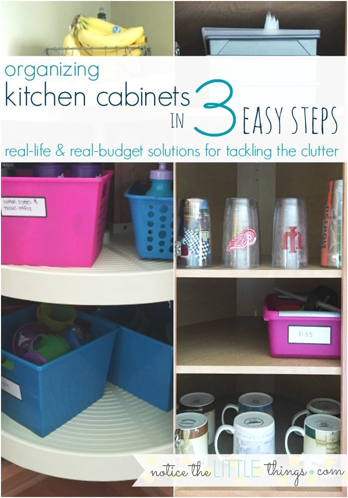 steps in organizing kitchen cabinets organizing kitchen cabinets in 3 easy steps notice the 26788
