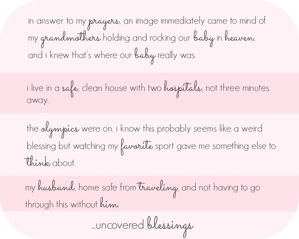our story of pregnancy, loss, and uncovered blessings