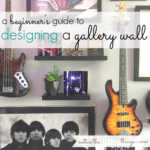 a beginner's guide to designing a gallery wall