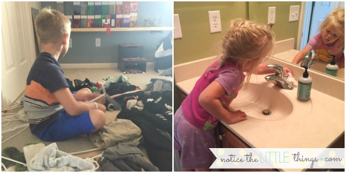 how i finally got my kiddos to help with chores without {too much} complaining.