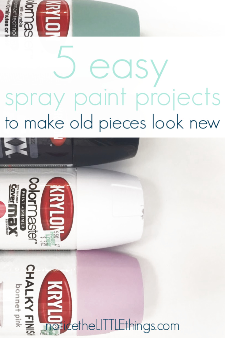 easy spray paint projects