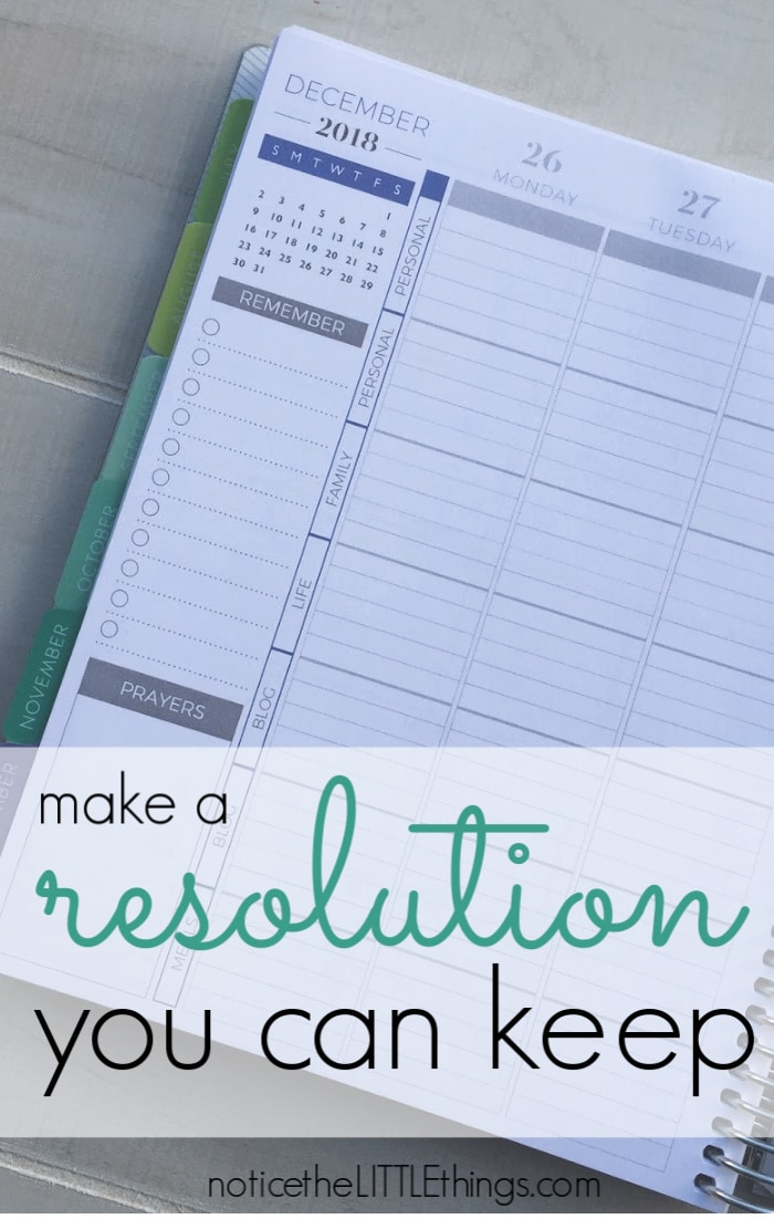 new year's resolution tips