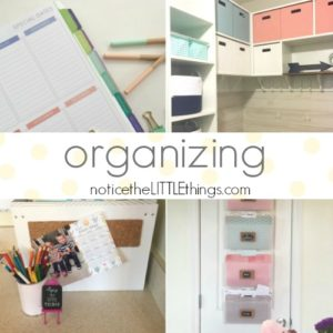 easy organizing ideas for your home and family