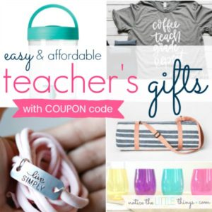 easy and affordable gift ideas for teachers