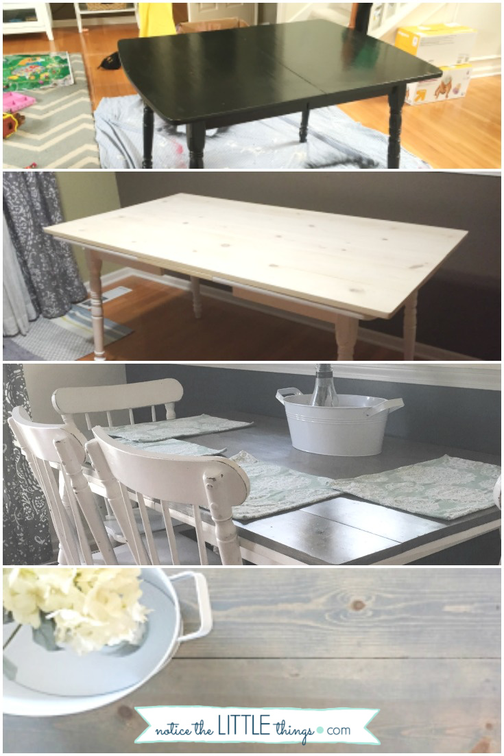 transform your old table into a beautiful farmhouse table, a step-by-step guide. plus, free printable paint and supply list. #paintedfurniture #howtopaintfurniture #refinishingfurniture #farmhousetable #farmhousestyle #diytable #diyfarmhousetable #newtabletop #howtomakeafarmhousetable #diyfarmhousetable #kitchentable #paintingchairs #freeprintable #paintguide