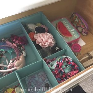 organized drawer