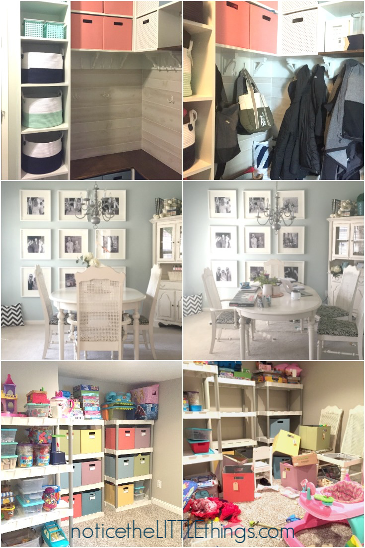 organizing before and afters