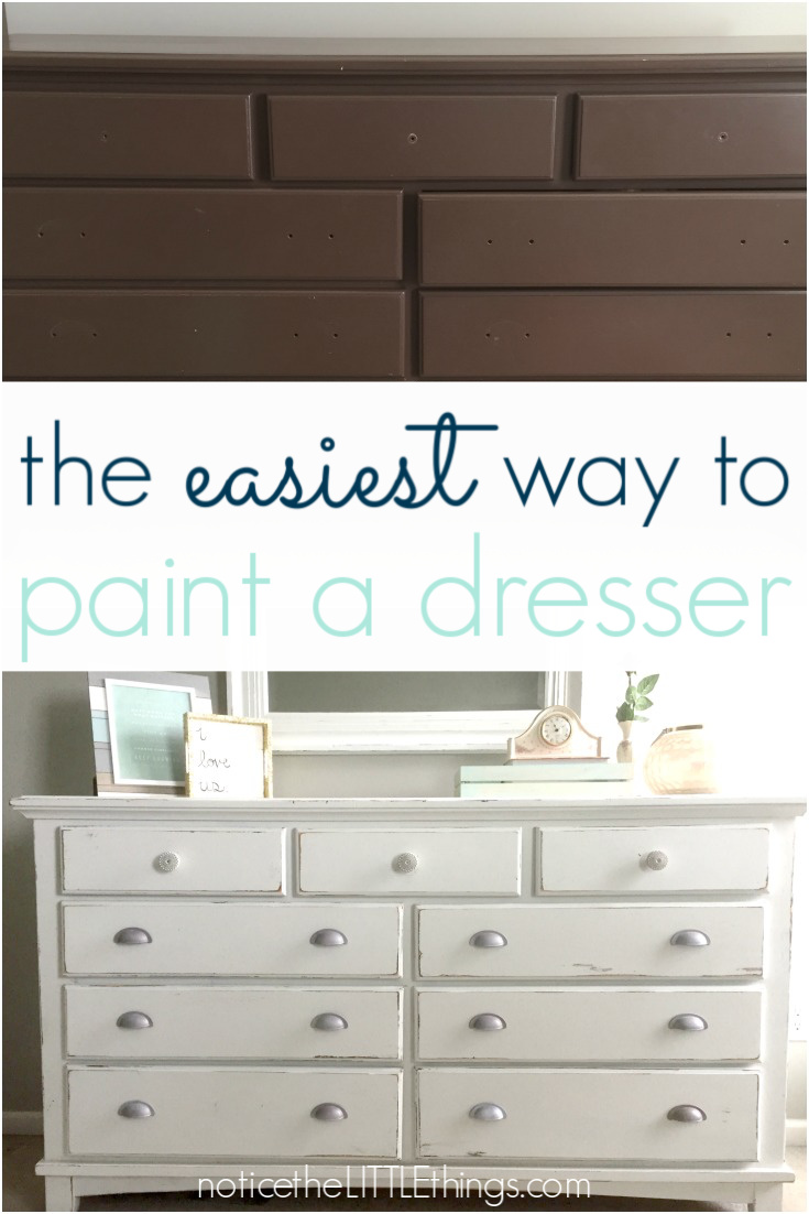 How To Paint Your Bedroom Furniture Notice The Little Things