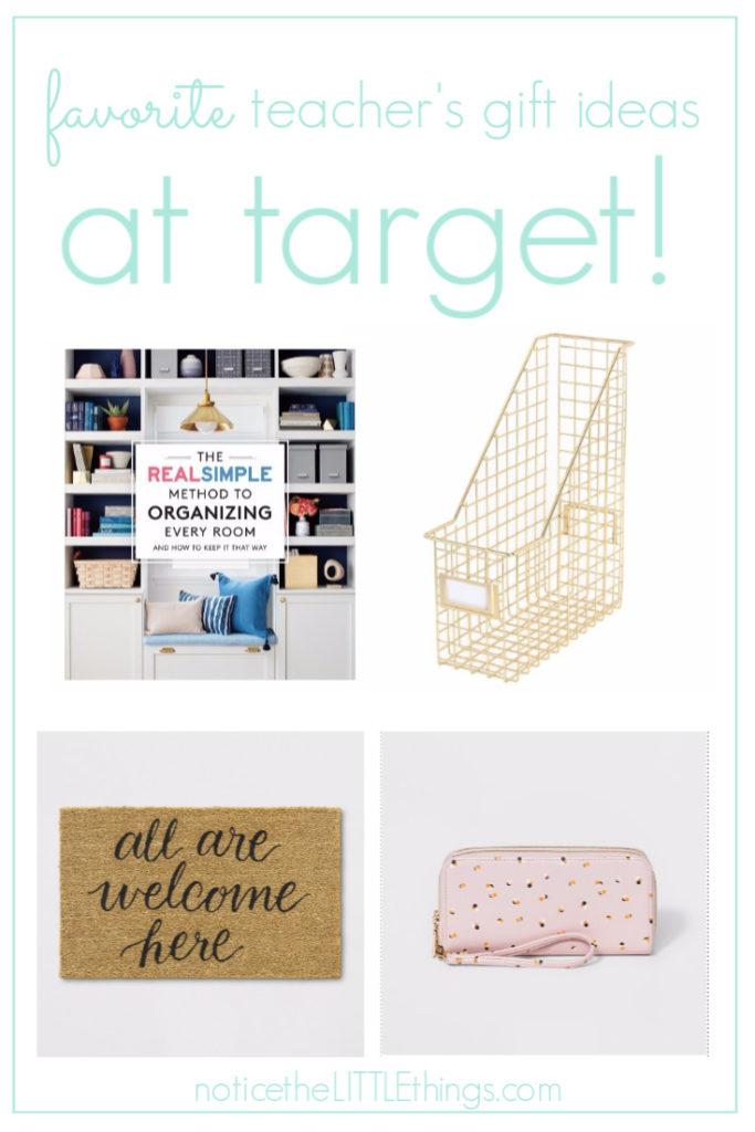 target teacher's gifts ideas