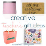 creative gift ideas for teachers