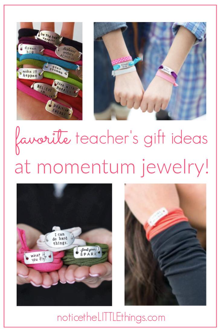 momentum jewelry gift ideas for teachers