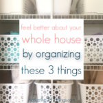the secret to feeling like a more organized mom