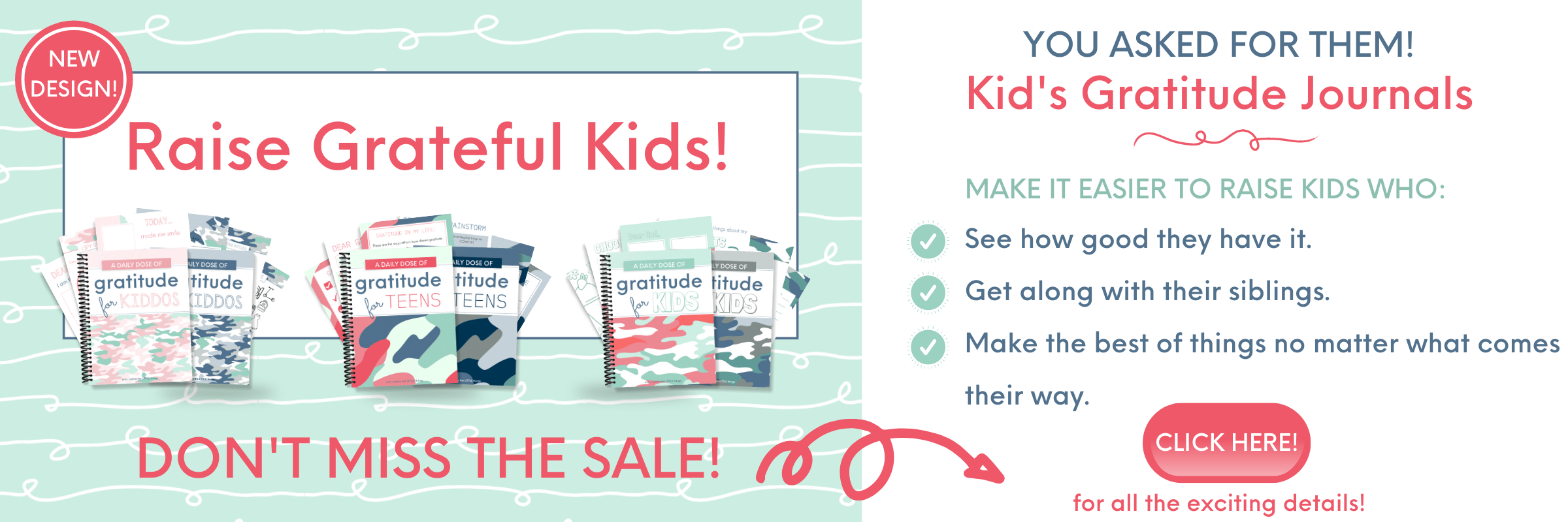 Kids GJ SALE Blog Banner