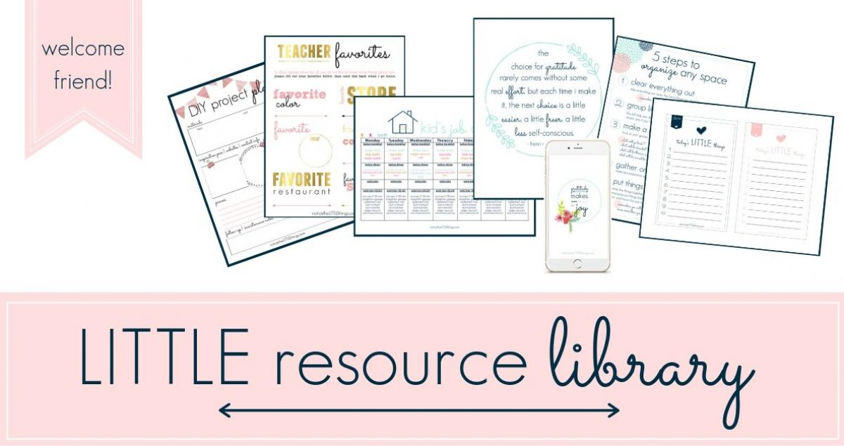 resource library | title page